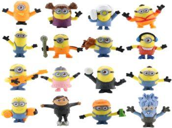 16 pcs Fun Minions
