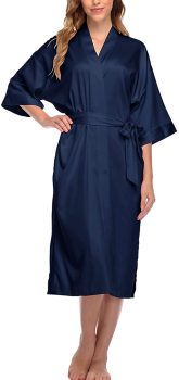 Women's Long Satin Sleepwear