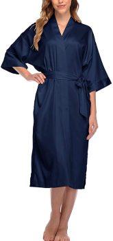 Women's Long Satin Sleepwear