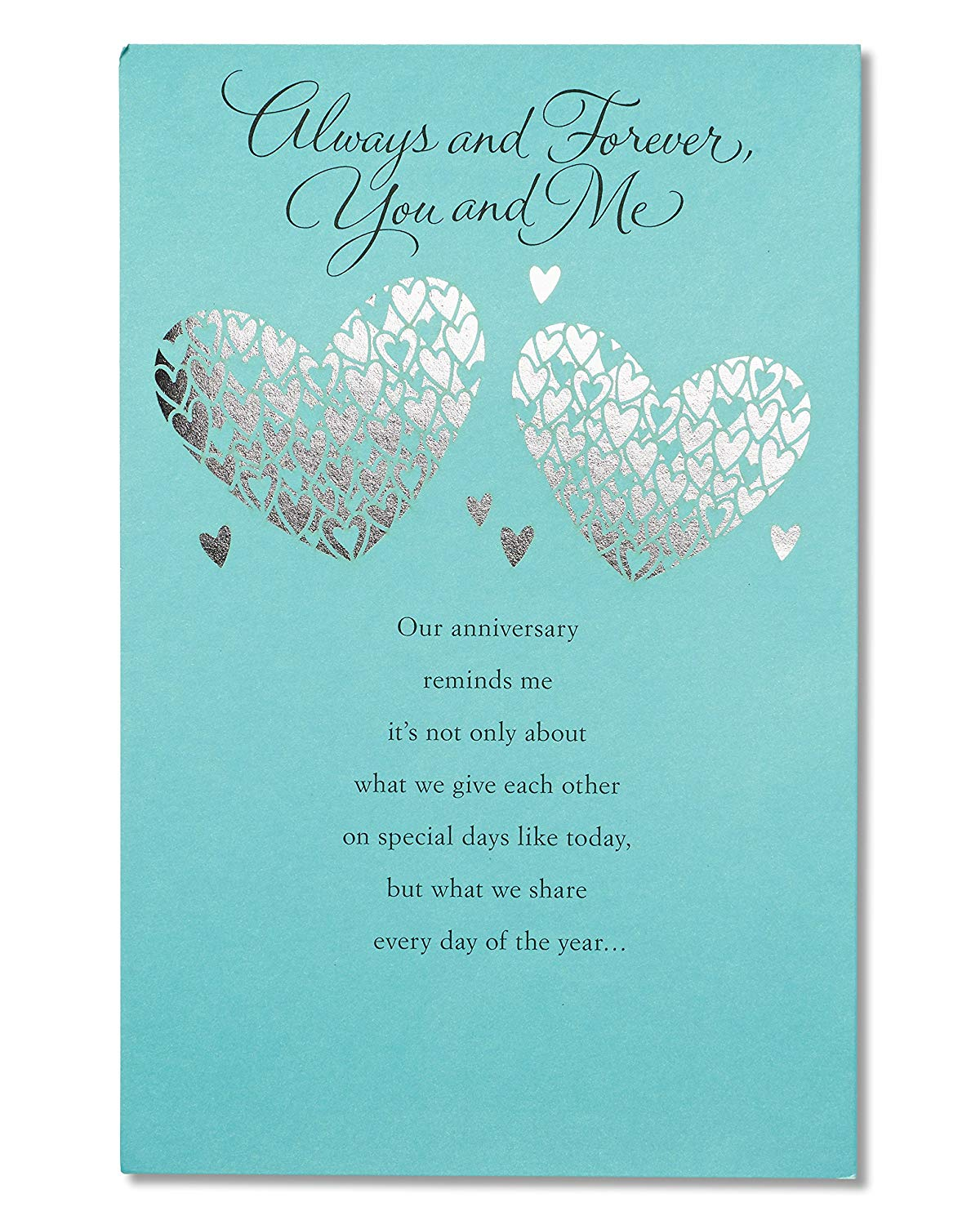 American Greetings Wedding Anniversary Card Romantic (Greatest Gift)