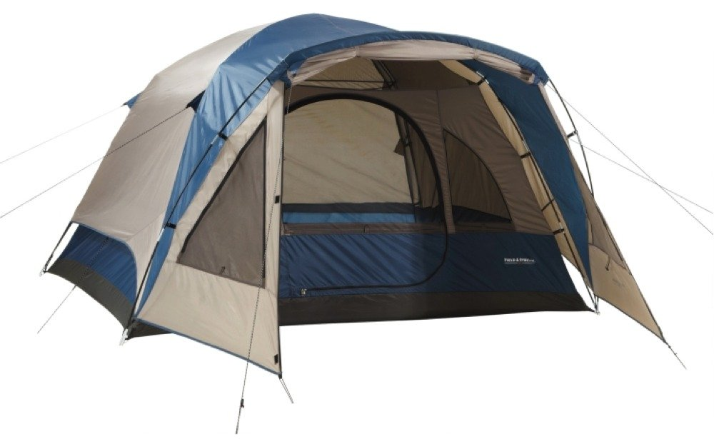 4 Person Tent Wilderness Lodge - Dome Style Vestibule For Added Element Protection