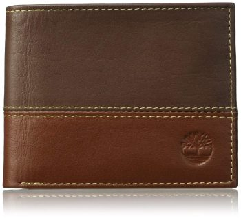 3 year anniversary gifts for husband Men's Leather Passcase Wallet