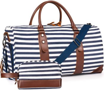Weekender Bags Canvas Leather