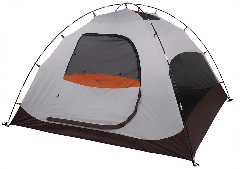 ALPS Mountaineering Meramac 4-Person Tent, Sage/Rust