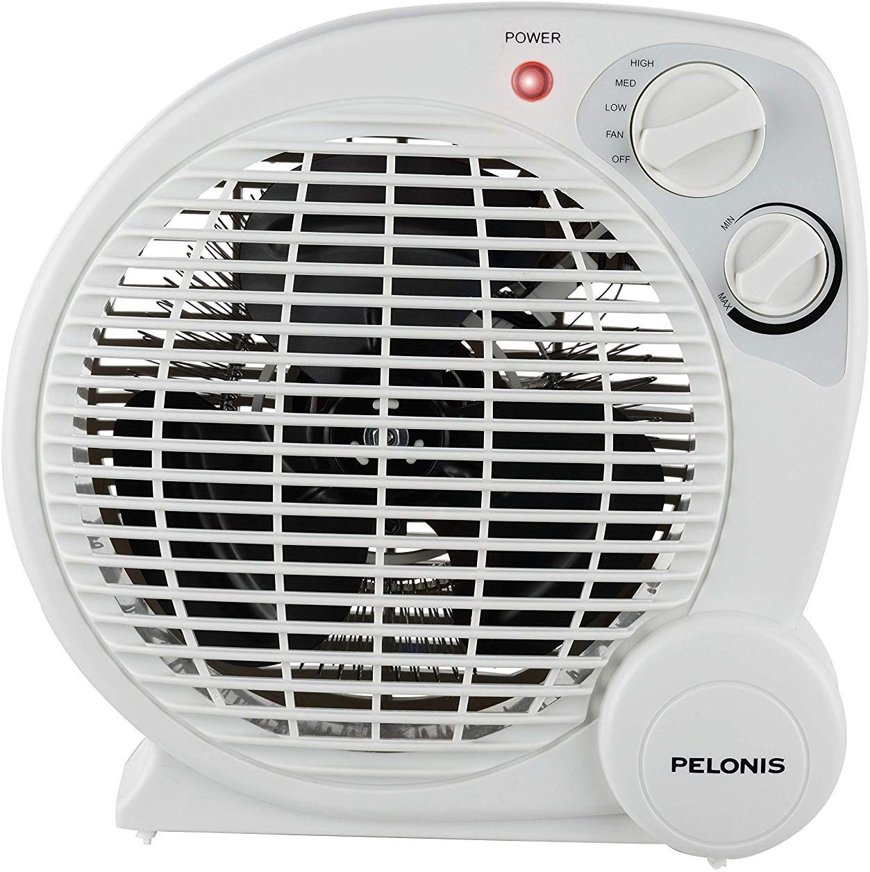 PELONIS HB-212T 3-Speed Fan Heater with Adjustable Thermostat