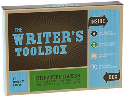 The Writer's Toolbox: Creative Games and Exercises for Inspiring the 'Write' Side of Your Brain (Writing Prompts, Writer Gifts, Writing Kit Gifts)