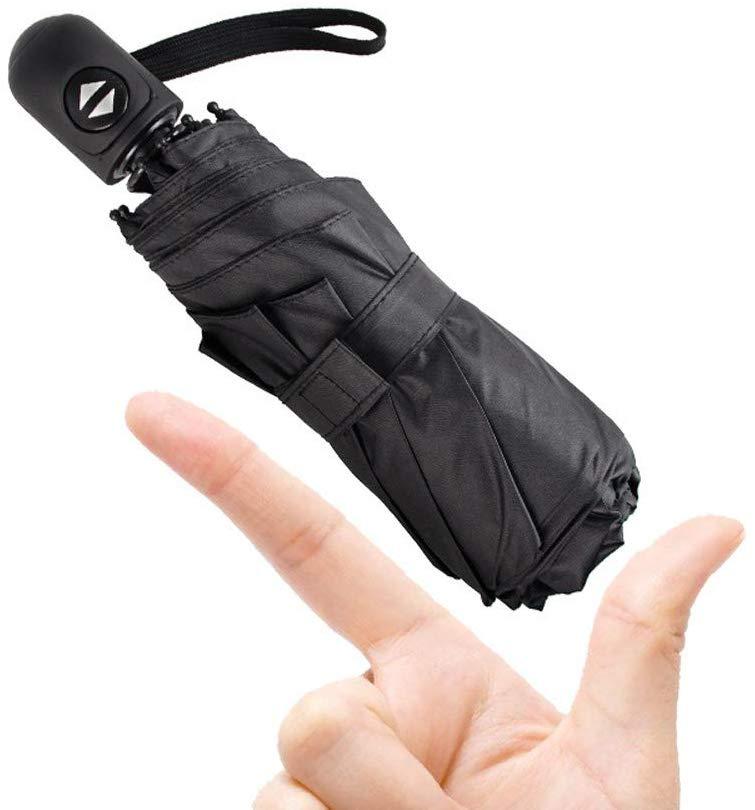 Travel Mini Umbrella-Automatic Compact Sun/Rain Windproof Floding Umbrella,Small Lightweight Auto Open/Close Portable Umbrellas
