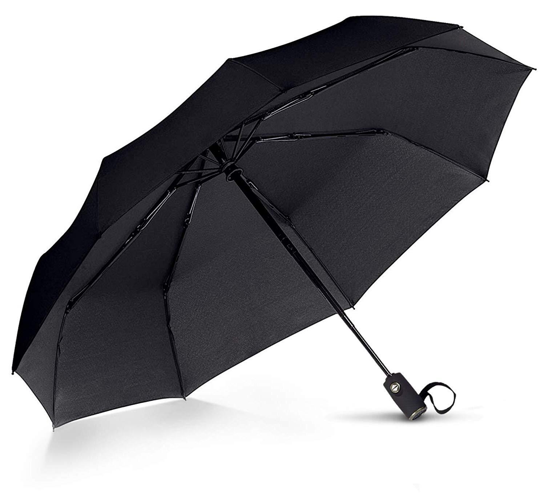 Small VAN BEEKEN Windproof Umbrella Folding Umbrella for Mens Women Water 95