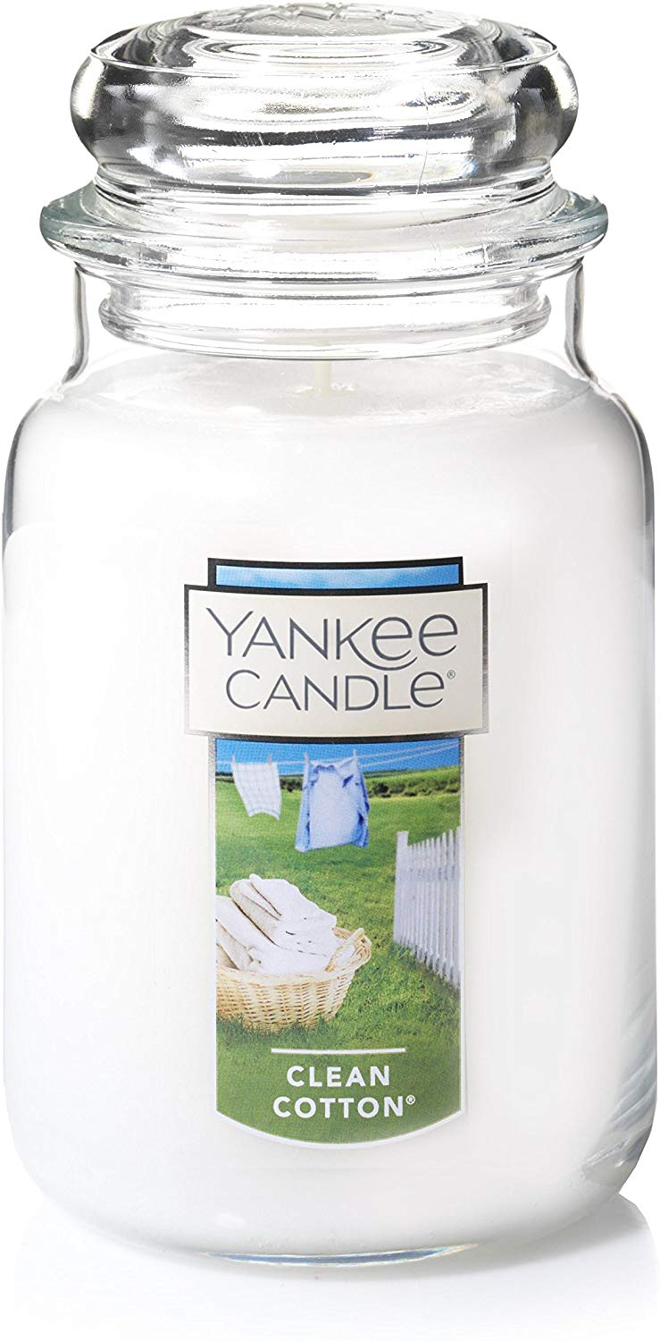 Yankee Candle Large Jar Candle Clean Cotton