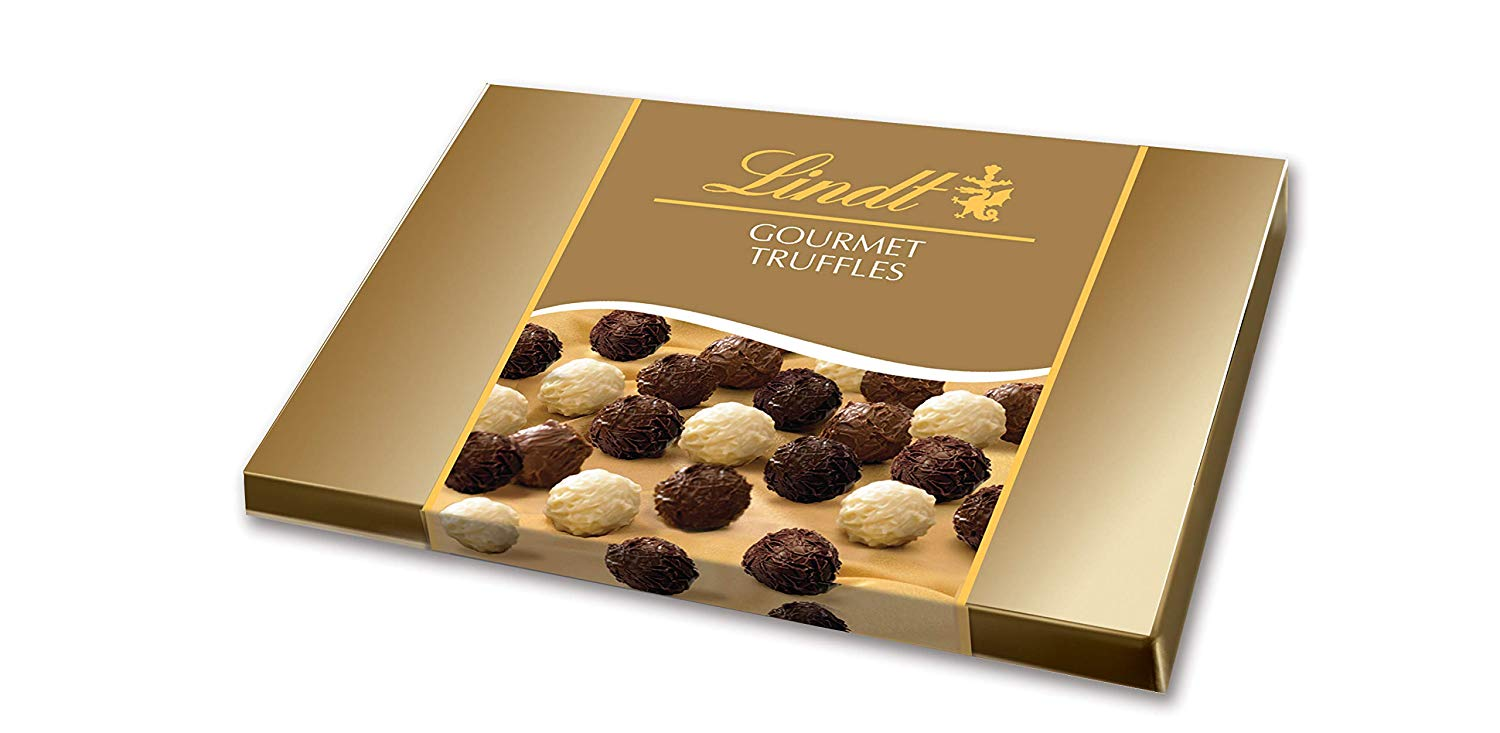 Lindt LINDOR Assorted Truffles Gift Box, Kosher, 14.5 Ounce