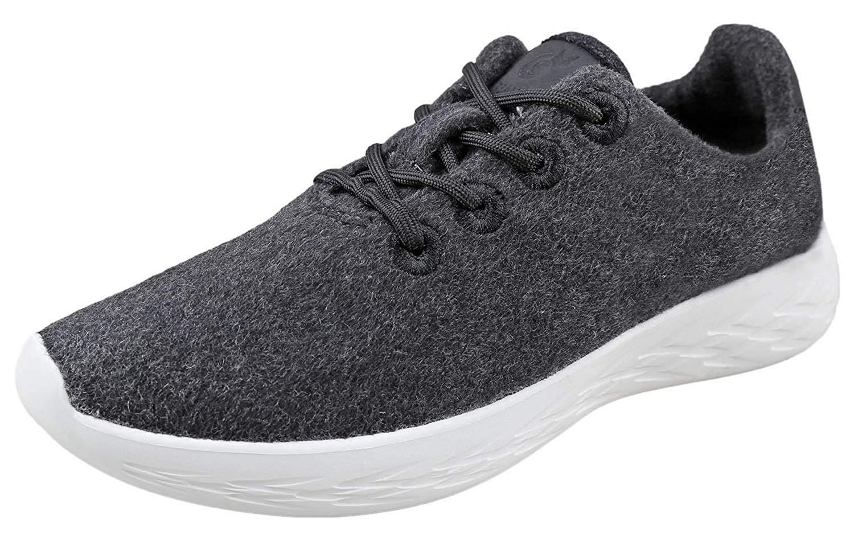 Urban Fox Mens Parker Wool Sneakers | Wool Shoes | Runners Running Shoes | Walking Shoe for Men