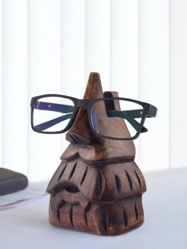 Wooden spectacle frame