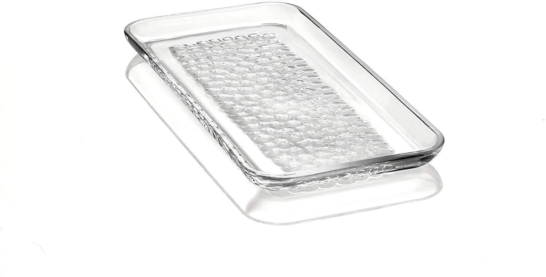 Orrefors Pearl Rectangular Platter, Clear
