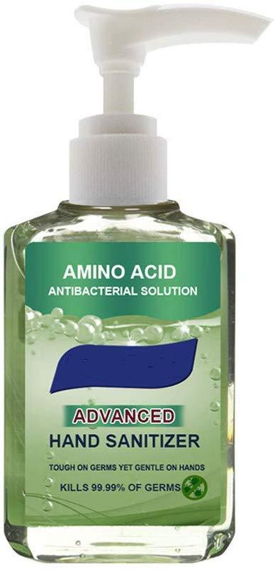 GSNICE Hand Sanitizer Gel - 50ml Rinse Free Hand Soap Travel Size Disposable Hand Sanitizer Moisturizing & Refreshing Gel Cleanser Instant Hand Sanitizer Effective 99.99% Skin Cleansing