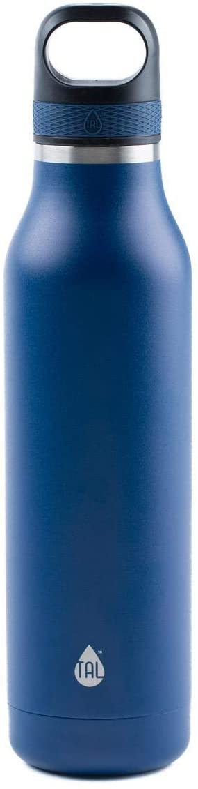 TAL 24oz Double Wall Vacuum Insulated Stainless Steel Ranger Sport Water Bottle, Navy