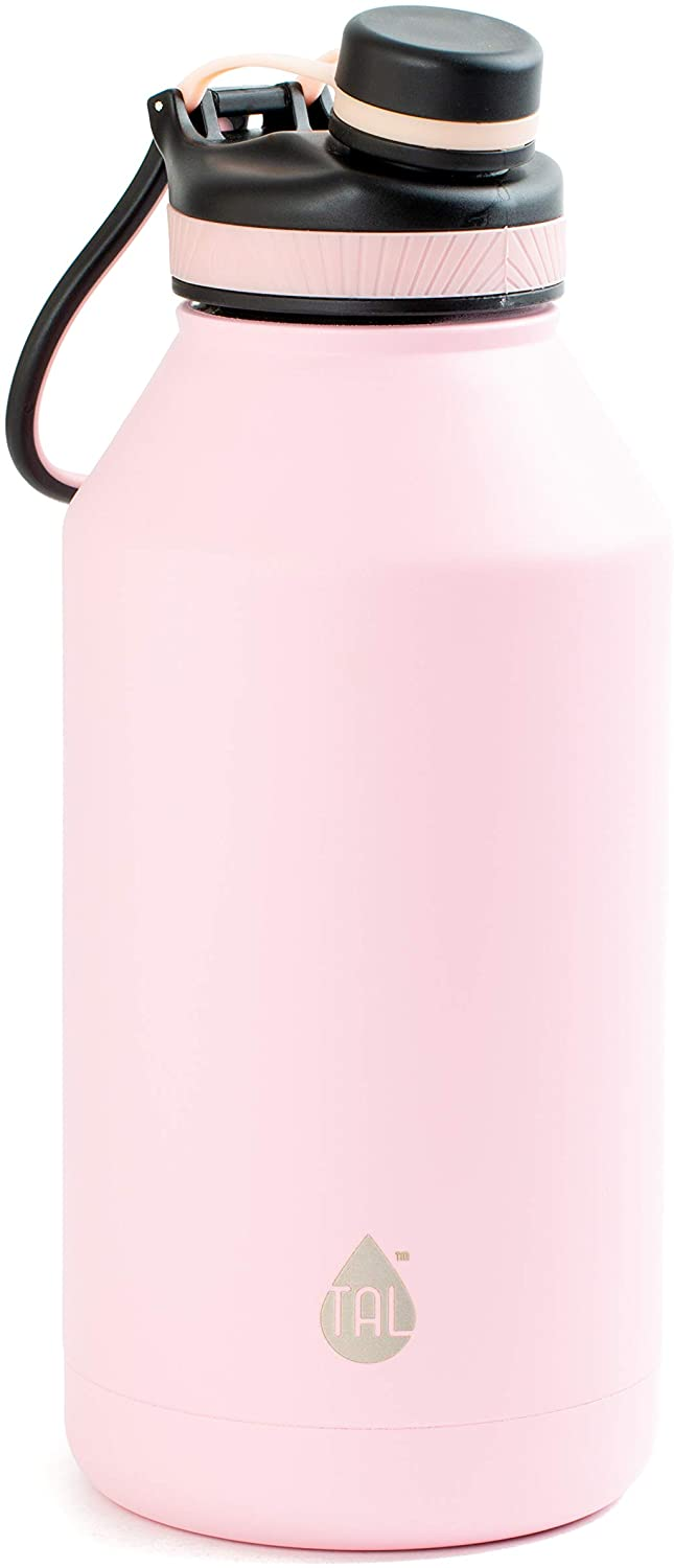 TAL 64oz Double Wall Vacuum Insulated Stainless Steel Ranger Pro Water Bottle (Pink)