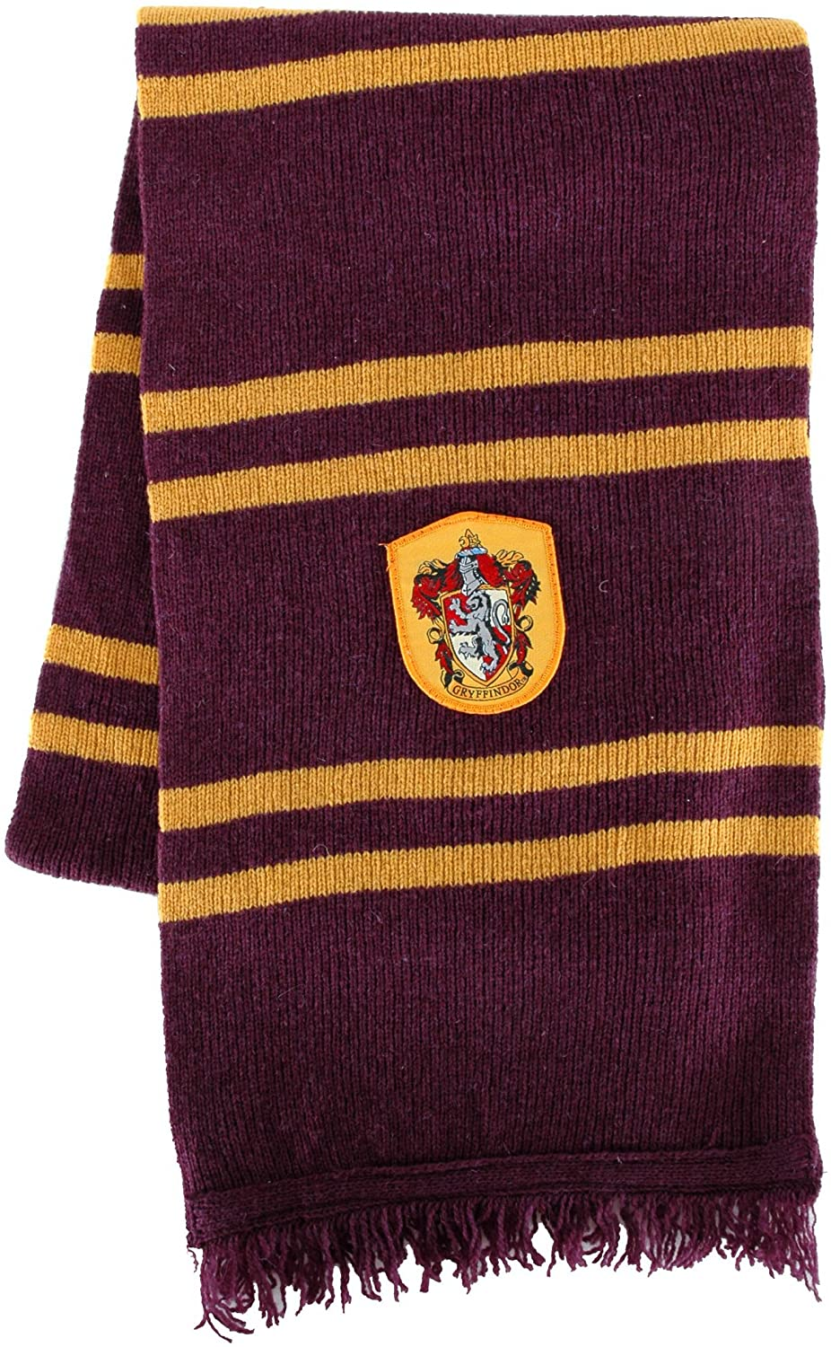 elope Harry Potter Officially Licensed Lamb's Wool Hogwarts House Scarf- Slytherin