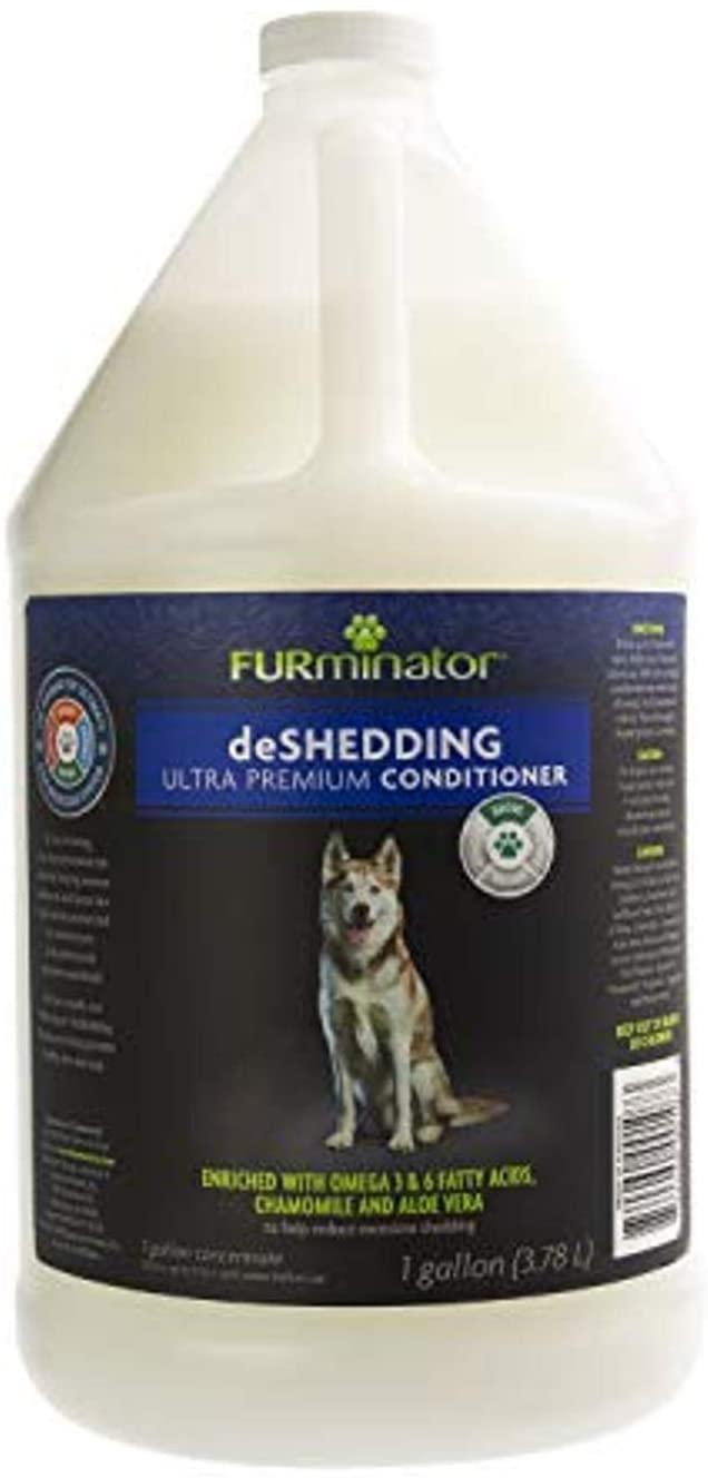 Furminator deShedding Ultra Premium Dog Conditioner, 1-Gallon (FUR00107)