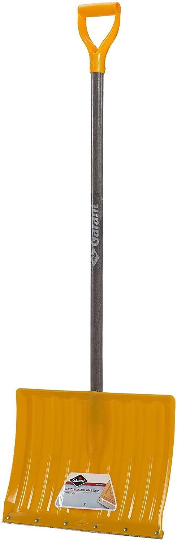 Garant APW18KDR Alpine 18-Inch Poly Blade Snow Shovel, Yellow