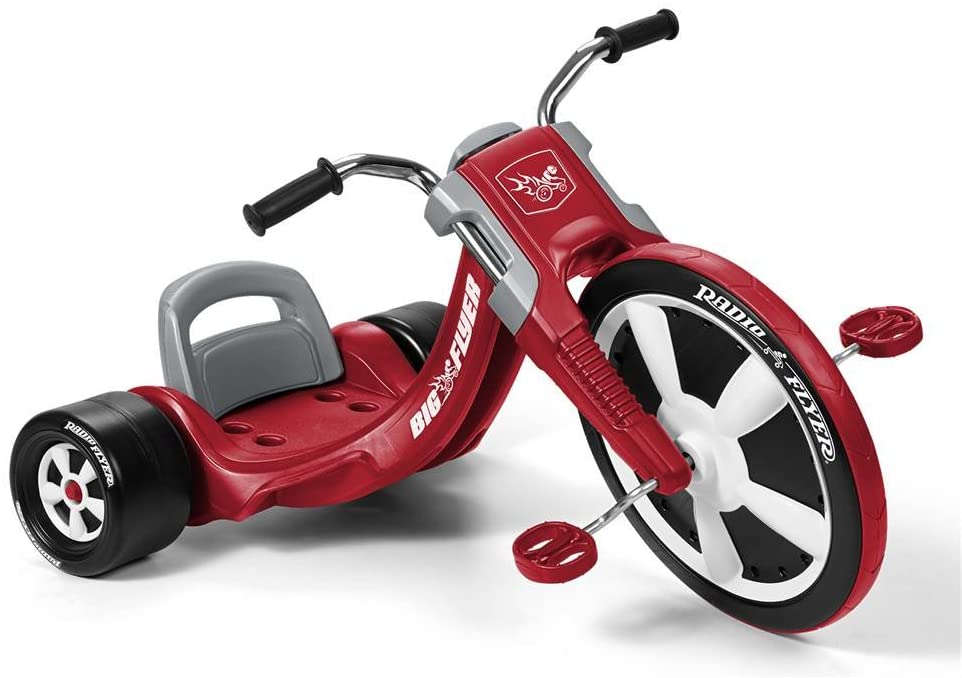 Radio Flyer Deluxe Big Flyer, Outdoor Toy for Kids Age 3-8