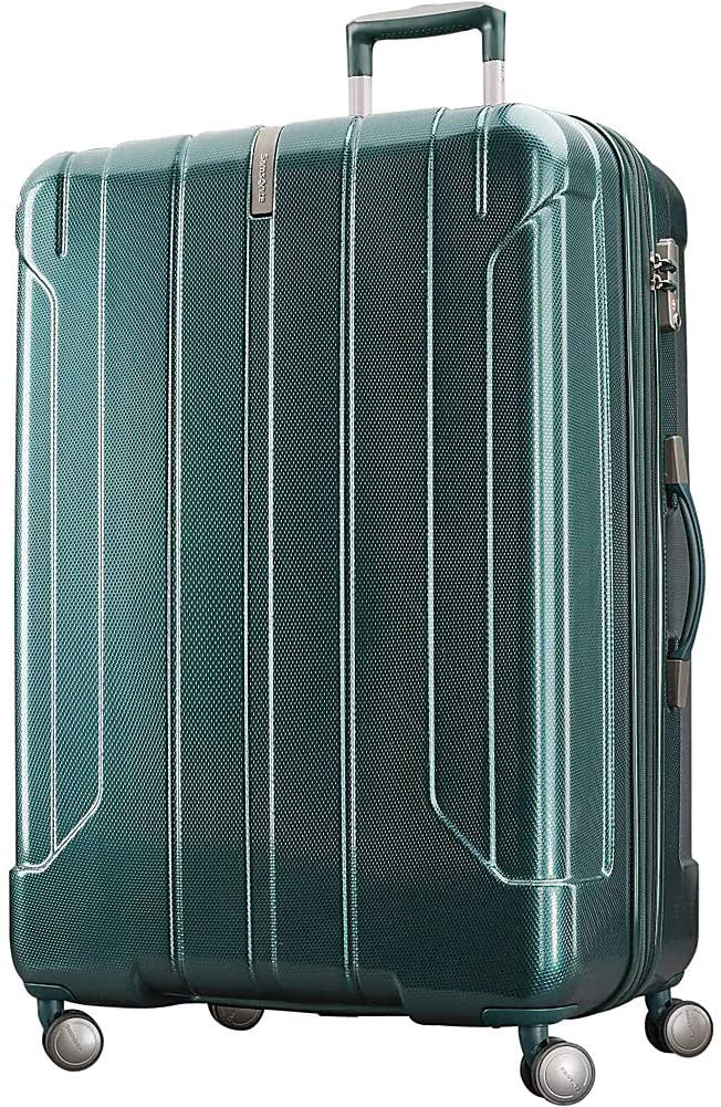 Samsonite On Air 3 29 Inch Expandable Hardside Checked Spinner Luggage (Emerald