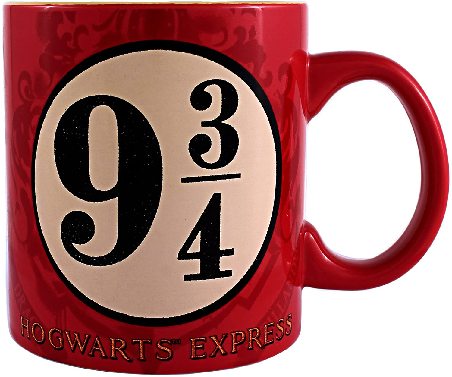 Silver Buffalo HP0934 Harry Potter and the Sorcerer's Stone Platform 9 and 3/4 Jumbo Ceramic Mug, 20-Ounces