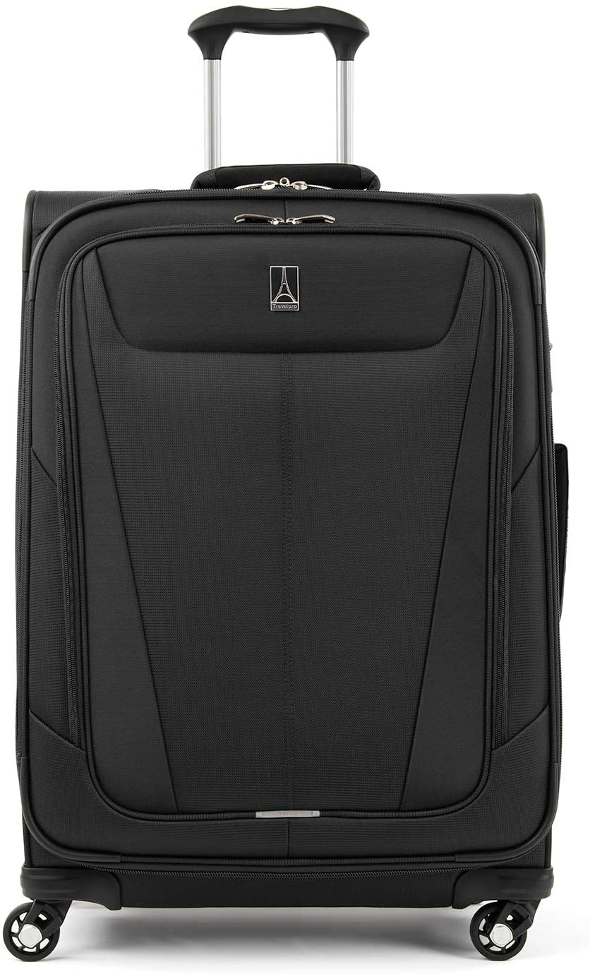 Travelpro Maxlite 5-Softside Expandable Spinner Wheel Luggage, Black