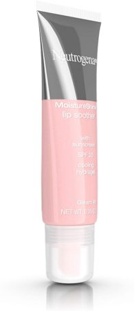 Neutrogena MoistureShine Lip Soother Gloss with SPF 20 Sun Protection