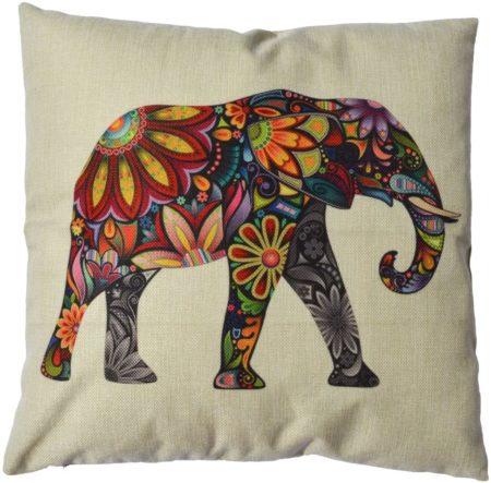 Cute elephant pillowcase