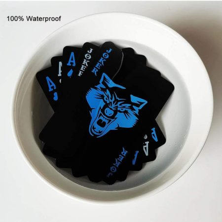 Gift Poker Cards (Blue Wolf Cards)