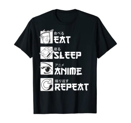 Japanese Manga T-Shirt