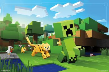 Minecraft Wall Poster