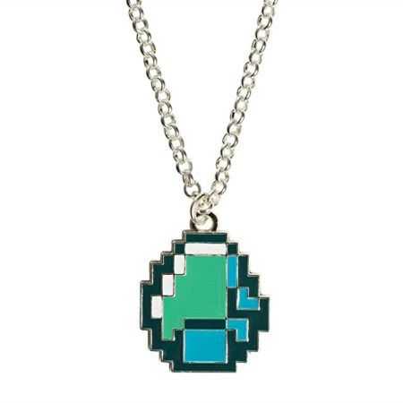 Minecraft pendant necklace for women