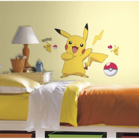 Pikachu Peel And Stick Wall Decals