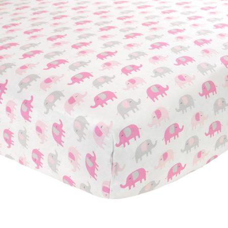 Pink Elephant Sheets