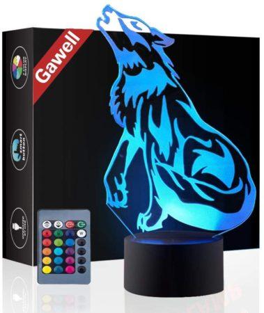 Wolf 3D Little Night Light
