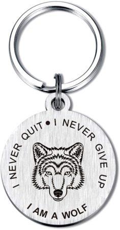 Wolf Key Chain