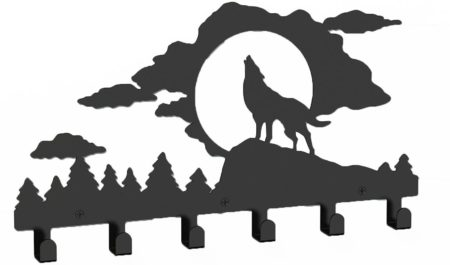 Wolf Metal Hanger