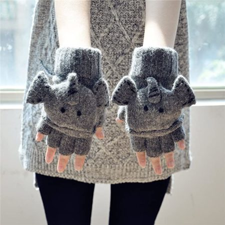 Women's Elephant Gloves