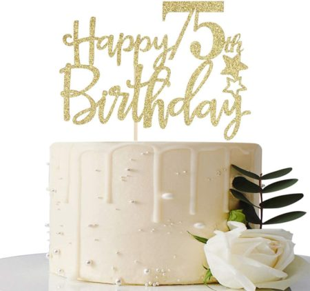 best 75th birthday gift