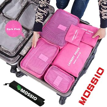 Packing Cubes with Shoe Bag