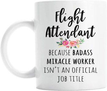 Funny Flight Attendant Coffee Mug