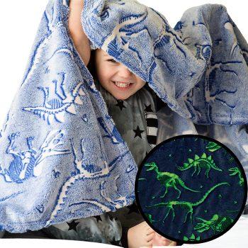 Luminous Dino Blanket