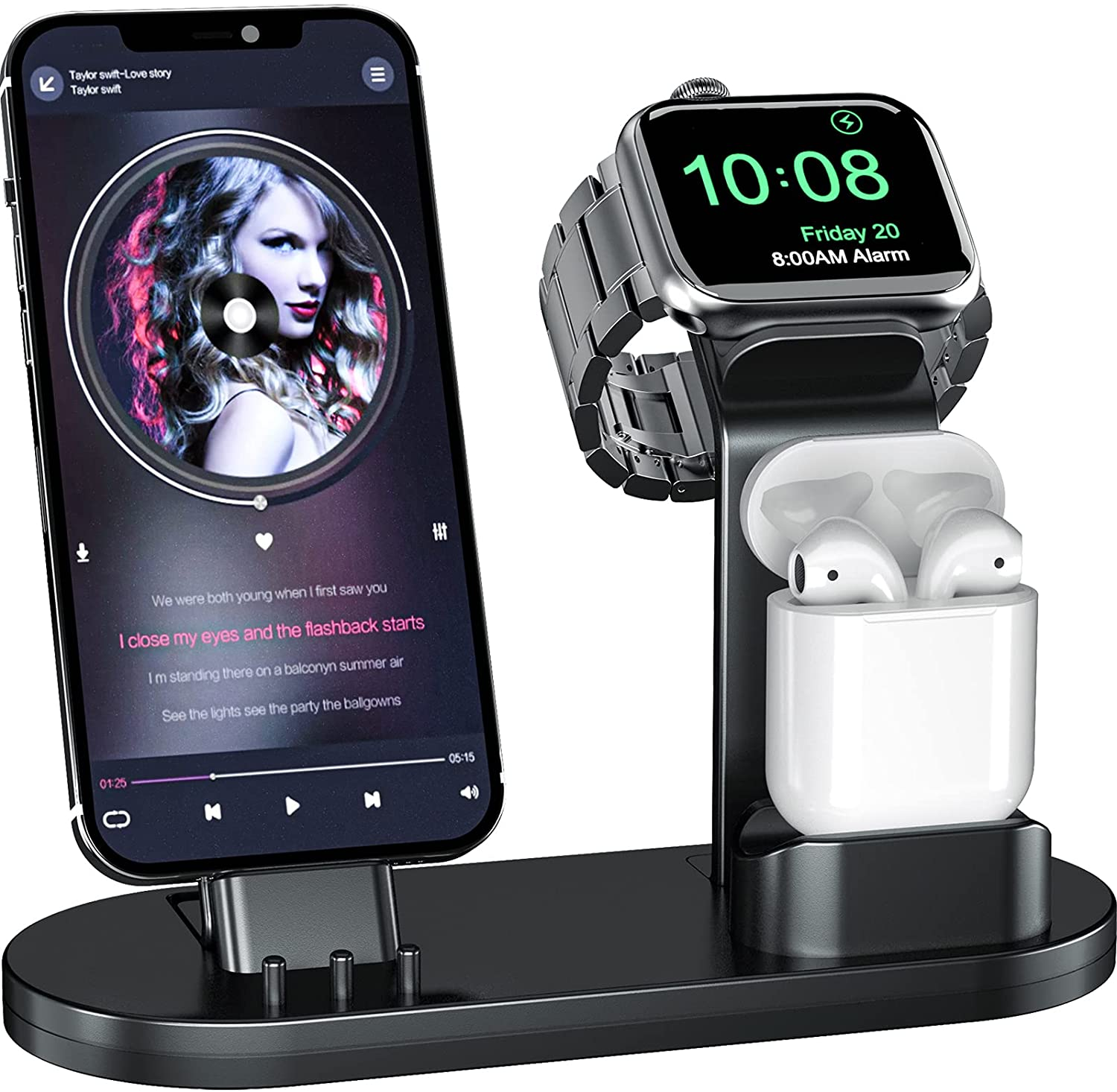 2. 3-in-1 Charging Stand