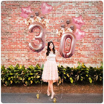 2. 30th Birthday Decorations