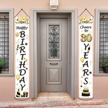 30th Birthday Door Banner Decoration