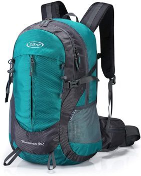 35L Hiking Backpack Water Resistant