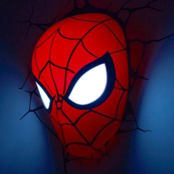 3D Light FX Marvel Spiderman Mask Light
