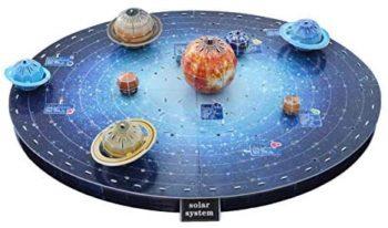 3D Planets Puzzle