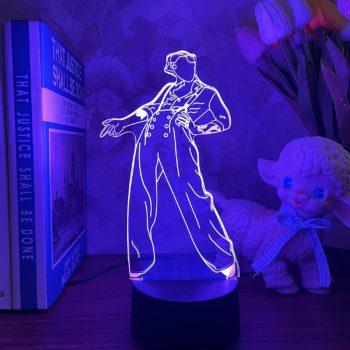3D singer idol night light